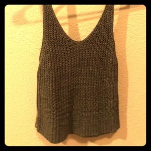 Tops - Green Knit Tank
